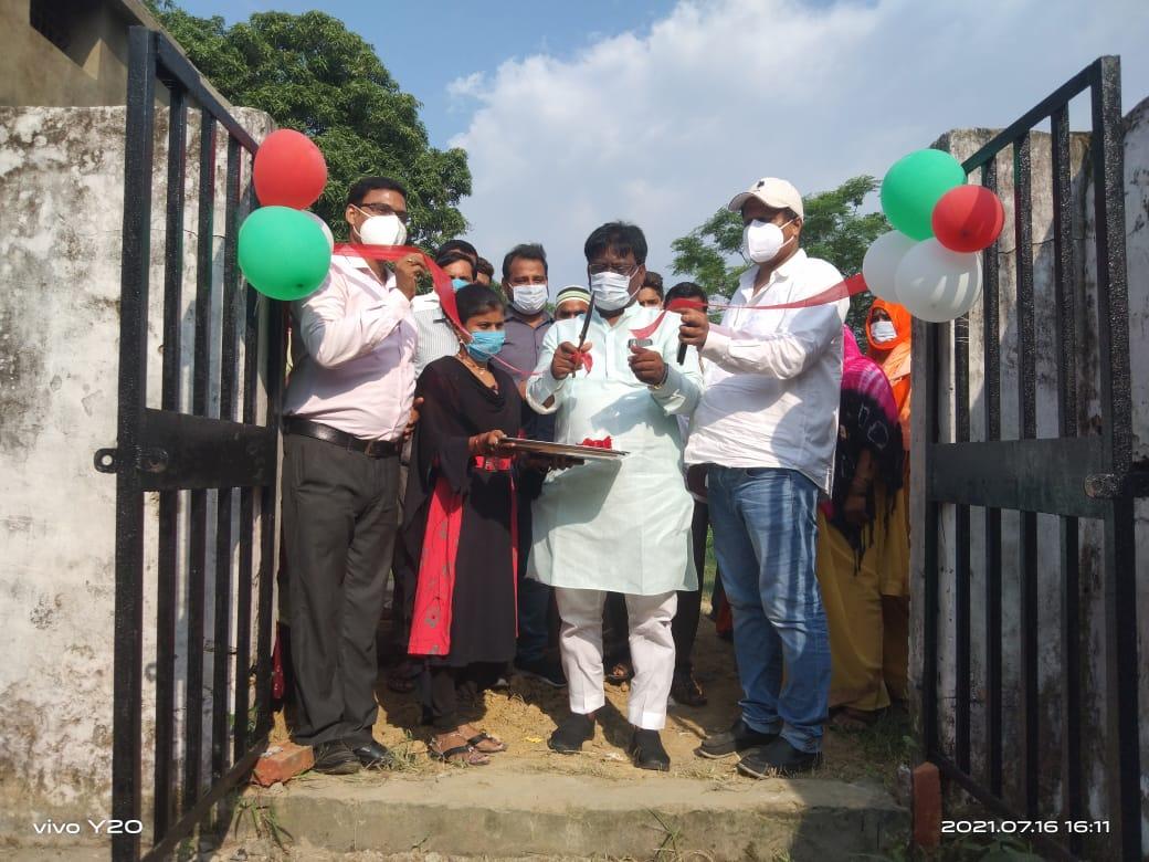 डॉ.शोएब मलिक ने किया ग्राम सभा ऐलरा में उप स्वास्थ्य केंद्र का उद्घाटन