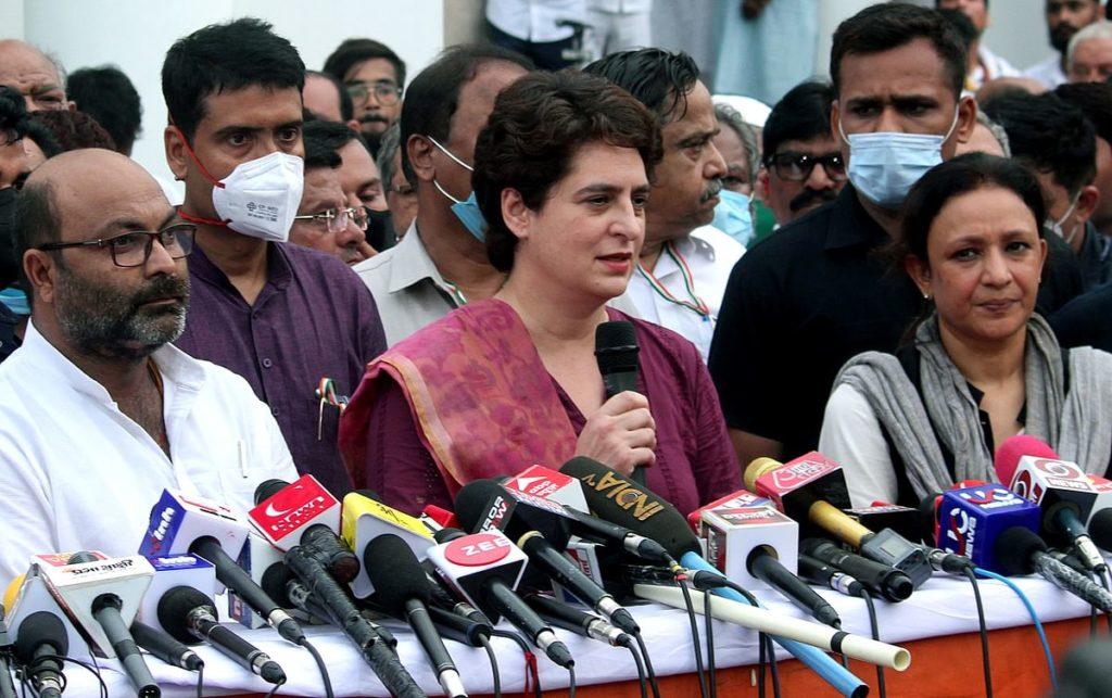 उत्तरप्रदेश मे प्रियंका के चेहरे पर लड़ेगी कांग्रेस चुनाव, नहीं होगा गठबंधन – राजेश तिवारी