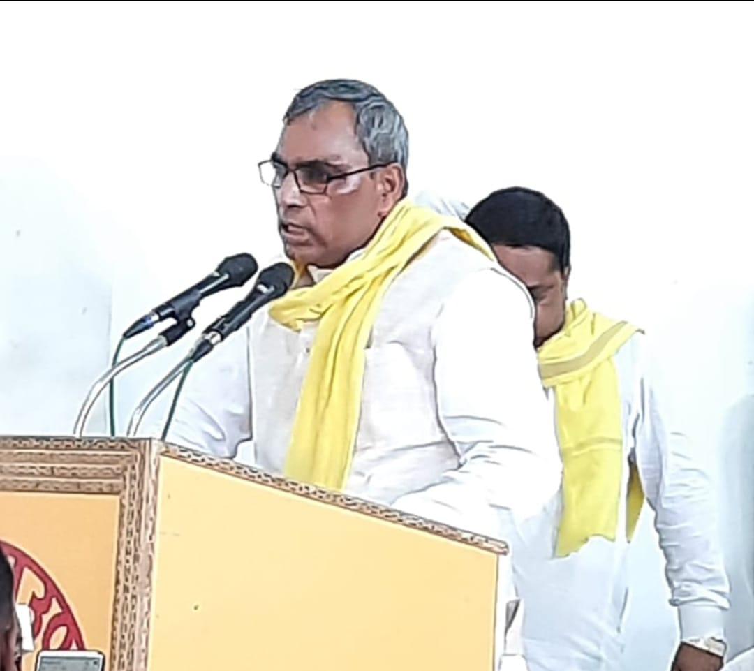 भाजपा सरकार पुंजीपतियों के लिए काम कर रही है ओम प्रकाश राजभर